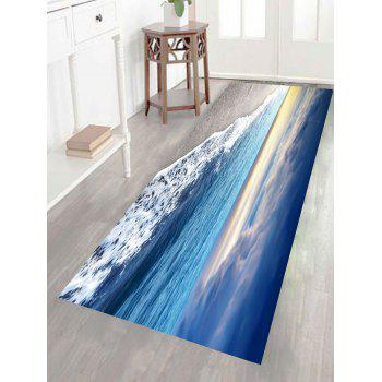 Multifunction Surf Beach Patterned Floor Wall Art Painting - CLOUDY 1PC:24*47 INCH( NO FRAME )