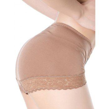 Lace Trim Lingerie Panties - ONE SIZE ONE SIZE