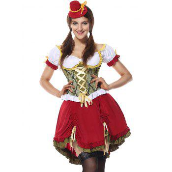 Oktoberfest Cosplay Costume - RED RED