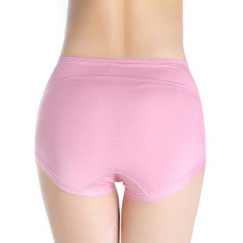 Lingerie Panties with Mesh - PINK PINK