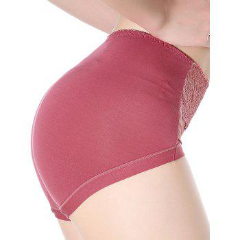 Lingerie Panties with Mesh - ONE SIZE ONE SIZE