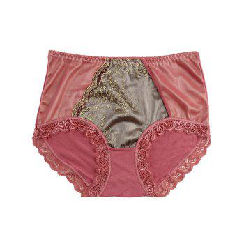 Lace Trim Panties - ONE SIZE ONE SIZE