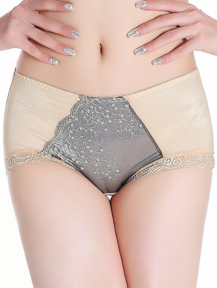 Lace Trim Panties - COMPLEXION ONE SIZE