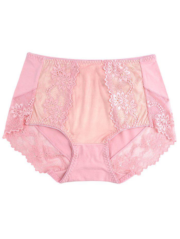 Laciness Lingerie Panties - PINK ONE SIZE