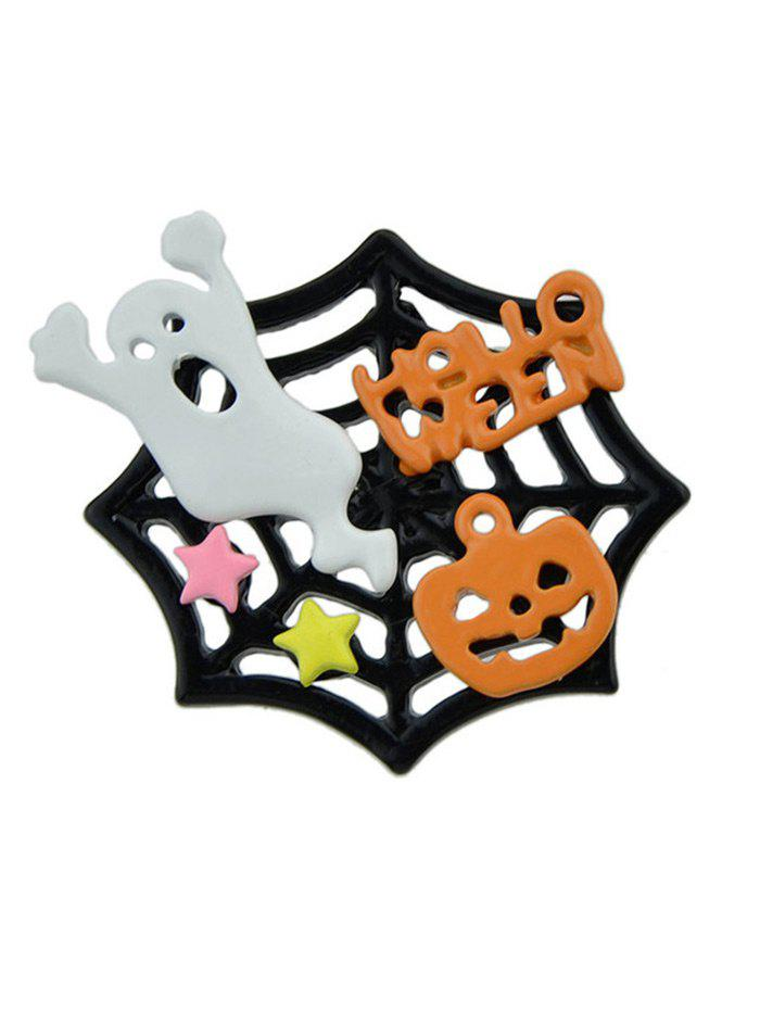 Halloween Devil Ghost Pumpkin Cobweb Brooch varta 14ач moto 514 401 017 yb14а a2
