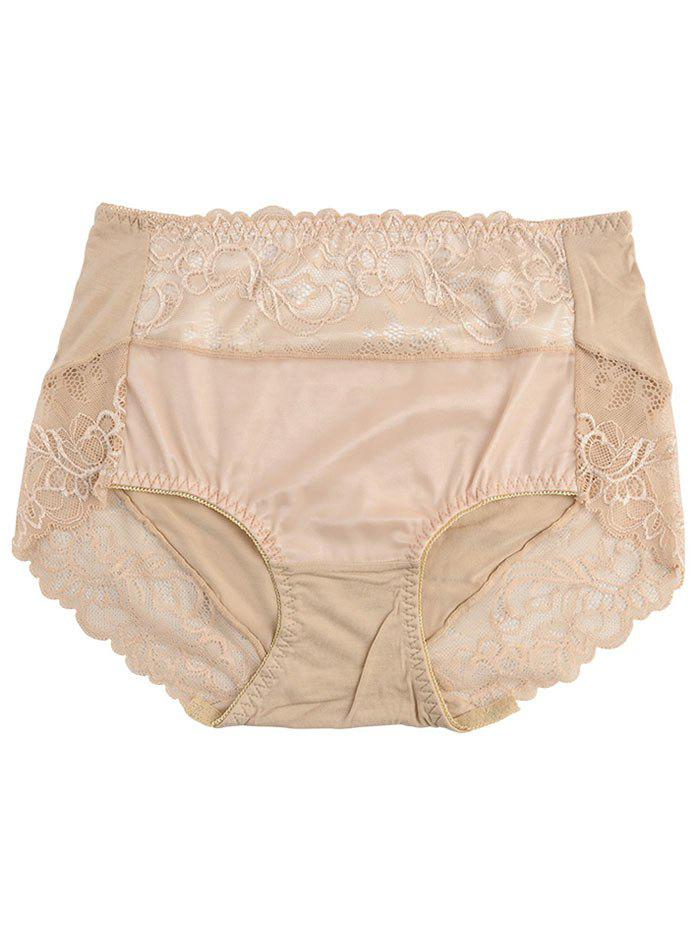 Lingerie Panties with Lace - COMPLEXION ONE SIZE