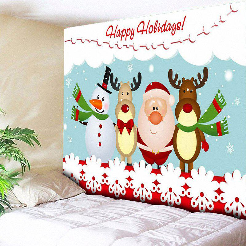 Christmas Deer Santa Claus Snowman Wall Tapestry automatic reset overvoltage and undervoltage protector against abnormal voltage too high or too low of power grid
