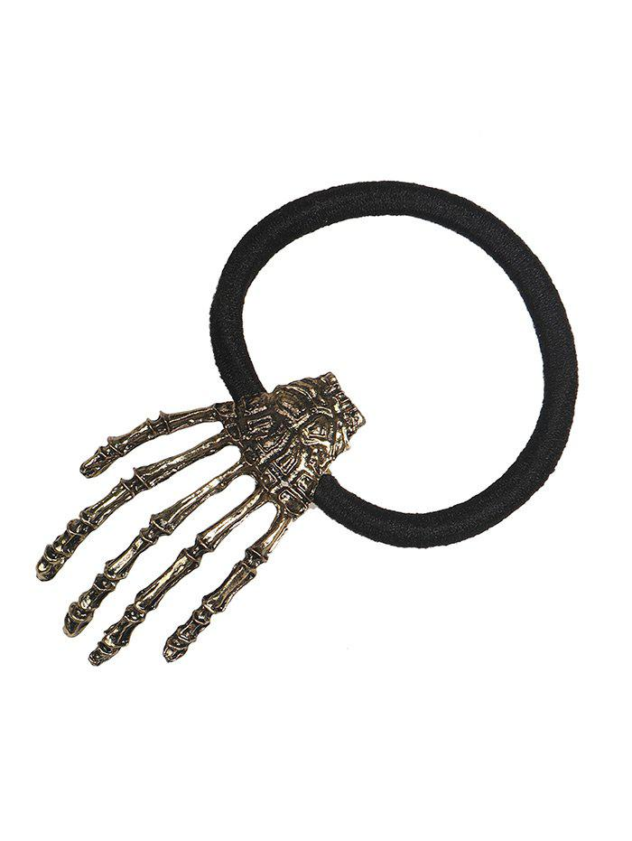 Halloween Skeleton Hand Elastic Hair Band - BRONZE