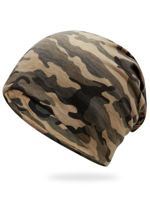 cd636d923d5 LIMITED OFFER  2019 Outdoor Camo Pattern Slouchy Beanie In JUNGLE ...