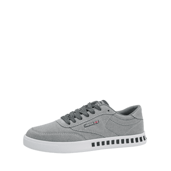 Letter Color Block Stitching Skate Shoes - GRAY 40