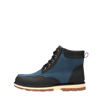 Bottines à Bout Arrondi en Blocs de Couleurs - Bleu 43