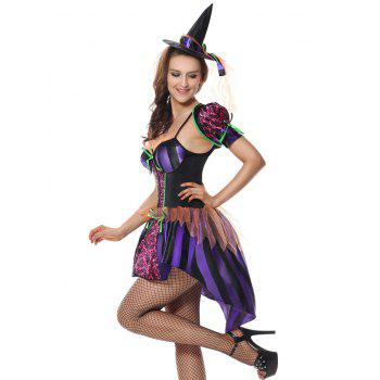 Festival Halloween Cosplay Costume - PURPLE PURPLE