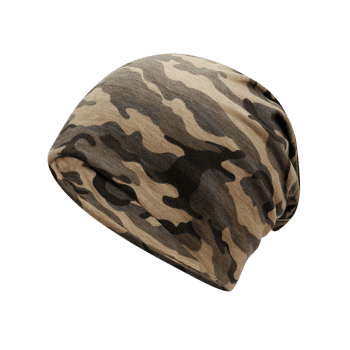 Outdoor Camo Pattern Slouchy Beanie -  JUNGLE CAMOUFLAGE