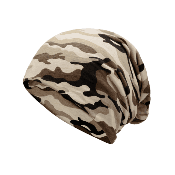 Outdoor Camo Pattern Slouchy Beanie - FG CAMOUFLAGE