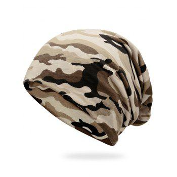 Outdoor Camo Pattern Slouchy Beanie - FG CAMOUFLAGE FG CAMOUFLAGE