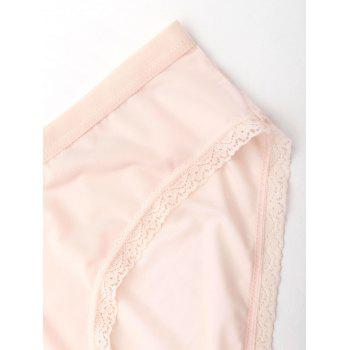 Seamless Lace Trim Panties - COMPLEXION COMPLEXION