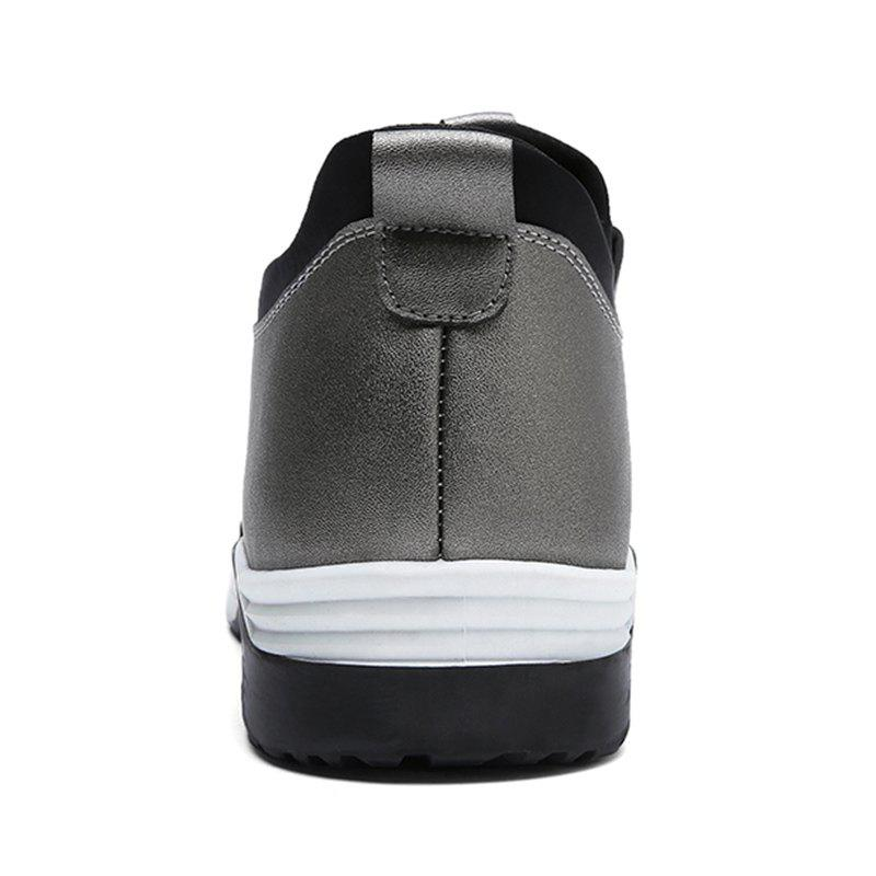 Low Top PU Leather Casual Shoes - FROST 43