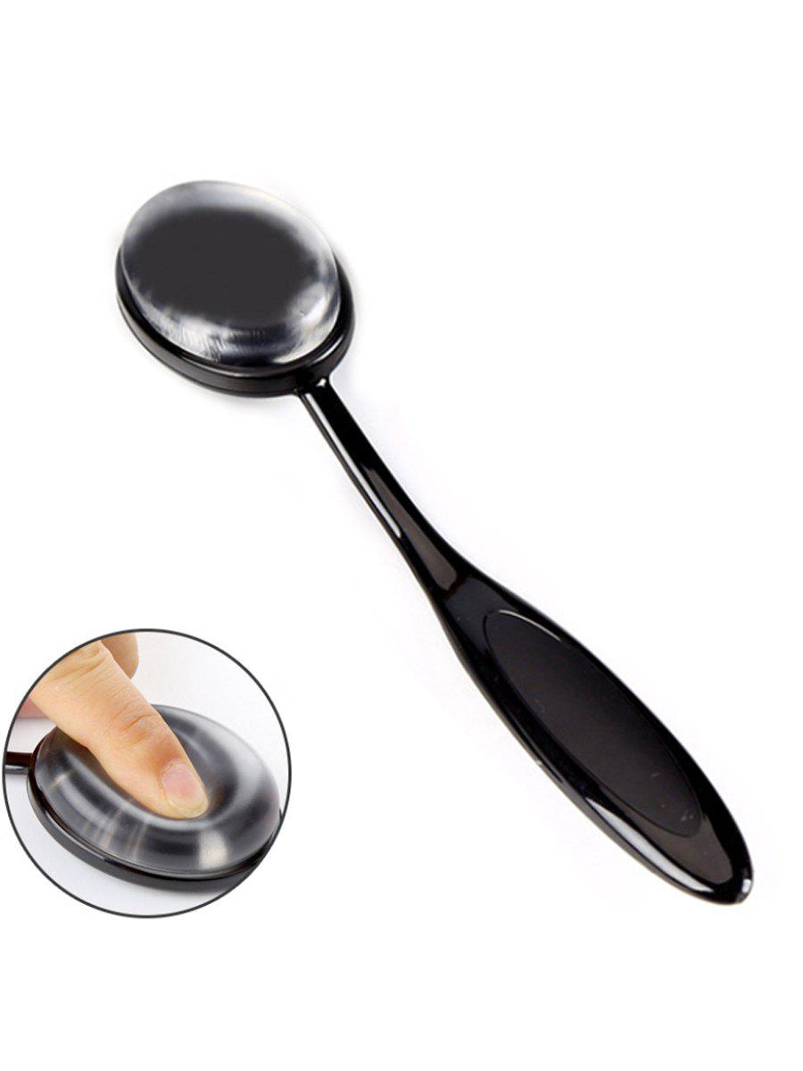 Beauty Cosmetic Silicone Makeup Foundation Brush - BLACK