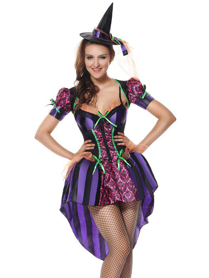 Festival Halloween Cosplay Costume - PURPLE ONE SIZE