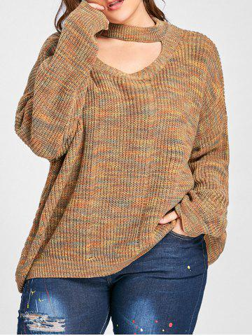 2018 Plus Size Distressed Sweater Online Store Best Plus Size