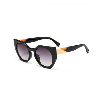 Outdoor Full Rim Butterfly Sunglasses - GRAY GRAY
