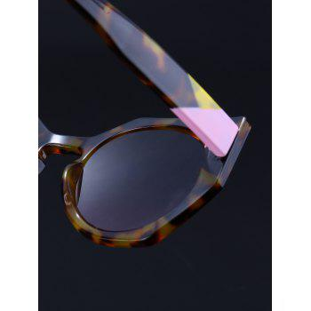 Outdoor Full Rim Butterfly Sunglasses -  BROWN