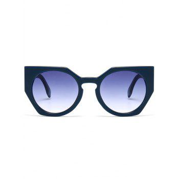 Outdoor Full Rim Butterfly Sunglasses -  BLUE
