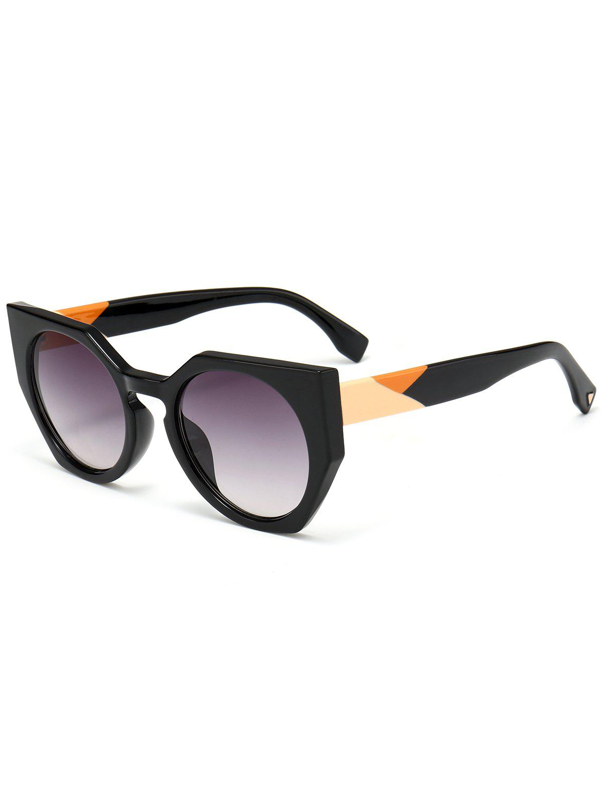 Outdoor Full Rim Butterfly Sunglasses - GRAY