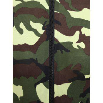 Camouflage Long Sleeve Soldier Cosplay Costume - ACU CAMOUFLAGE L