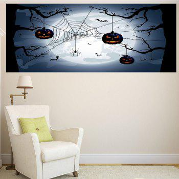 Multifunction Halloween Spider Web Pattern Wall Sticker - 1PC:39*39 INCH( NO FRAME ) 1PC:39*39 INCH( NO FRAME )