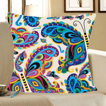 Home Decor Colorful Butterfly Printed Pillow Case - COLORFUL COLORFUL