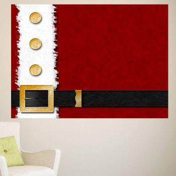 Christmas Belt Printed Removable Multifunction Wall Sticker - 1PC:24*47 INCH( NO FRAME ) 1PC:24*47 INCH( NO FRAME )