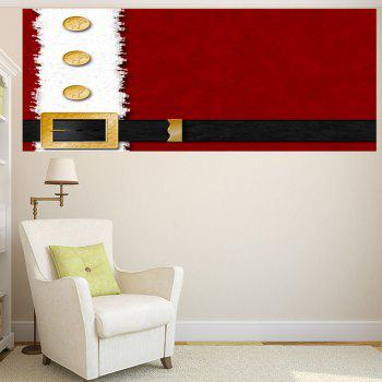 Christmas Belt Printed Removable Multifunction Wall Sticker - 1PC:59*39 INCH( NO FRAME ) 1PC:59*39 INCH( NO FRAME )