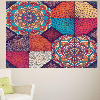 Bohemia Pattern Multifunction Waterproof Wall Art Sticker - 1PC:24*47 INCH( NO FRAME ) 1PC:24*47 INCH( NO FRAME )