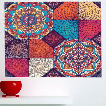 Bohemia Pattern Multifunction Waterproof Wall Art Sticker - 1PC:59*39 INCH( NO FRAME ) 1PC:59*39 INCH( NO FRAME )