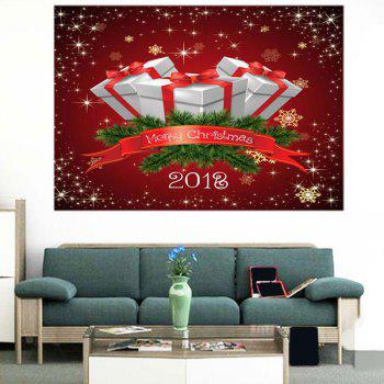 Wall Art Christmas Gifts Pattern Multifunction Removable Sticker - 1PC:39*39 INCH( NO FRAME ) 1PC:39*39 INCH( NO FRAME )