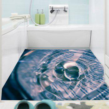 Water Drop Pattern Multifunction Removable Wall Sticker - COLORMIX 1PC:24*47 INCH( NO FRAME )
