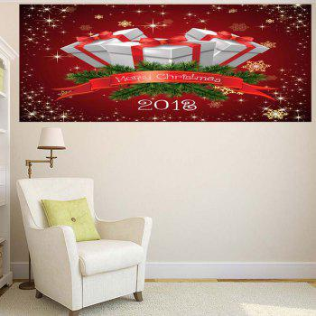 Wall Art Christmas Gifts Pattern Multifunction Removable Sticker - 1PC:59*39 INCH( NO FRAME ) 1PC:59*39 INCH( NO FRAME )