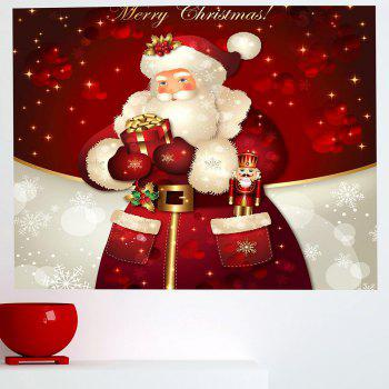 Santa Claus Gifts Patterned Multifunction Wall Art Sticker - 1PC:24*47 INCH( NO FRAME ) 1PC:24*47 INCH( NO FRAME )