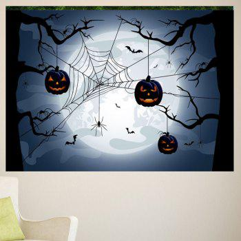 Multifunction Halloween Spider Web Pattern Wall Sticker - 1PC:24*35 INCH( NO FRAME ) 1PC:24*35 INCH( NO FRAME )