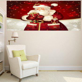 Santa Claus Gifts Patterned Multifunction Wall Art Sticker - 1PC:59*39 INCH( NO FRAME ) 1PC:59*39 INCH( NO FRAME )