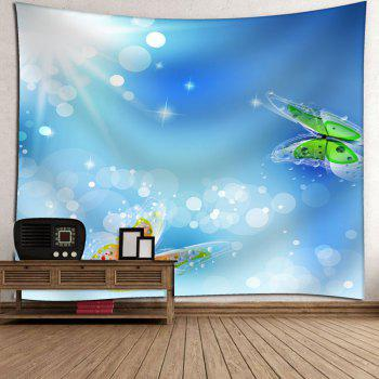 Butterfly Printed Wall Hanging Tapestry - W91 INCH * L71 INCH W91 INCH * L71 INCH