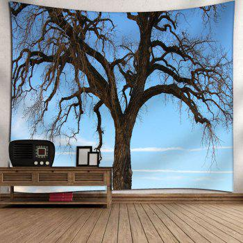 Wall Hanging Tree Printed Tapestry - W79 INCH * L59 INCH W79 INCH * L59 INCH