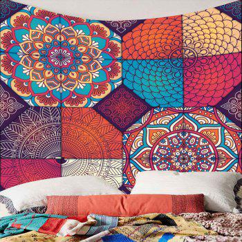 Hanging Bohemia Patterned Waterproof Wall Art Tapestry - W79 INCH * L59 INCH W79 INCH * L59 INCH