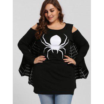Plus Size Spider Batwing Halloween Costume - 2XL 2XL