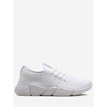 Low Top Breathable Mesh Sneakers