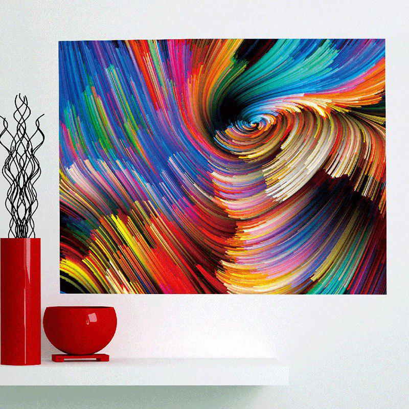Multifunction Colorful Space Patterned Removable Wall Art Painting - COLORFUL 1PC:24*71 INCH( NO FRAME )