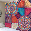 Hanging Bohemia Patterned Waterproof Wall Art Tapestry - COLORFUL W91 INCH * L71 INCH
