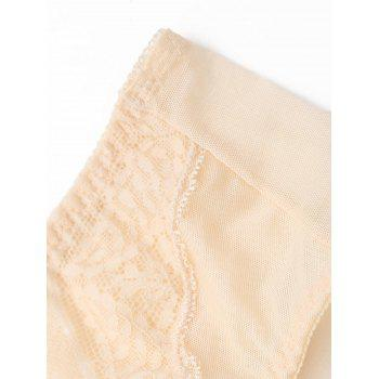 Lace See Through Mesh Panties - ONE SIZE ONE SIZE