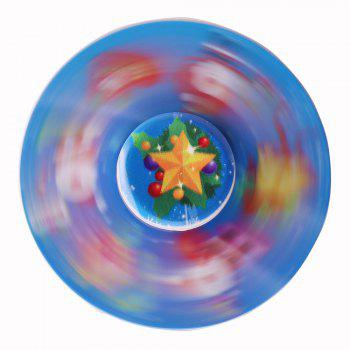 Christmas Round EDC Toy Fidget Spinner - BLUE